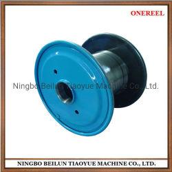 Twising Copper 및 Aluminum용 이중 플랜지 강철 케이블 드럼 와이어