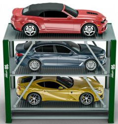 CE relevage hydraulique certifiée voiture voiture Smart Système de stationnement souterrain