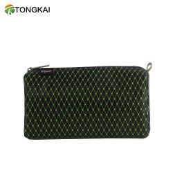 Настраиваемые Tongkai моды силиконового герметика с ромбовидным орнаментом косметический мешок