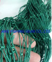 Наиболее сильный нейлоновые рыболовных сетей, 210d/84ply (2,5 мм) 3дюйм, двойной фиксации узлов, высокое качество для рынков Европы