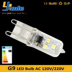 100 Lumens Potência Baixa 1W G9 tipos de lâmpadas LED para substituir lâmpadas de halogéneo G9 para o Reino Unido