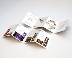 Comercio al por mayor de alta calidad Personalizado A3 A4 tamaño A5 Color promocionales publicidad folleto plegado, folleto, folleto, la impresión de folleto