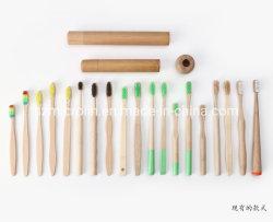 OEM personalizado vários modelos de escova de dentes Natural Bamboo para adultos