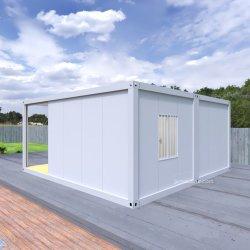 مقهى Coffee Camping منازل قابلة للتوسيع لمبيعات حاوية مطبخ 20 قدم