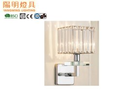 La moderna de la luz de la pared de cristal, en la pared, E14 bombilla LED Crystal para decorar la cabecera, el corredor, el café