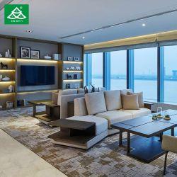 Villa de gros de meubles de salle de séjour un canapé de loisirs de tissu pour le salon