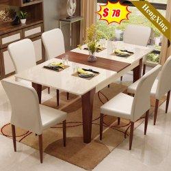 Modern Style Chinese Home Hotel Outdoor woonkamer Houten melamine Restaurant tafel Eetmeubilair