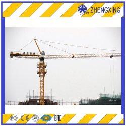 جديد 10 طن من البناء الذاتي برج الإنشاء رافعة Qtz125 (ZX6513-10T) الطقم العلوي