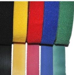 Couleurs personnalisées Divers 100 % nylon noir et blanc à crochet et boucle de bandes de velcro avec une haute qualité à partir de bon fournisseur