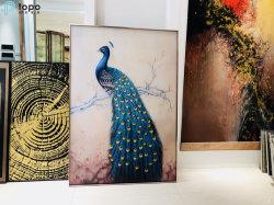 La Chine Fabricant Prix bon marché Accueil Peinture décorative Art Glass (MR-YB6-2030)