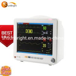 病院によって使用される12.1inch LCDの製造者ICUの携帯用忍耐強いモニタ