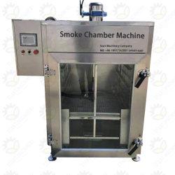 500kg pro Zeit-elektrische rauchende Ofen-Fleisch-Räucherhaus-Wurst/Meerestier-Räucherhaus