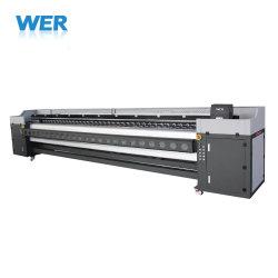 Stampante solvibile di formato largo 5m 4heads per stampa esterna