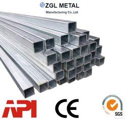 En10219/En10210 S235jrh/S275joh/S355j2h Q235 Q345/Q355Cold Formed and Hot Refinished Steel Pipes Vierkante buis gegalvaniseerd staal