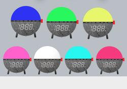Gran fiesta al aire libre decoraciones personalizado reloj iluminación