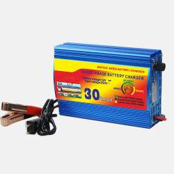 Three-Steps Charge chargeur de batterie au plomb 12V 30 ampères Commerce de gros