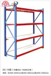 Против агрессивных Q235 газа стальной промышленности селективного для тяжелого режима работы склада для хранения поддонов в стек полок для решений производителя