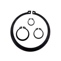 BACCANO d'acciaio della molla nera 471 anello