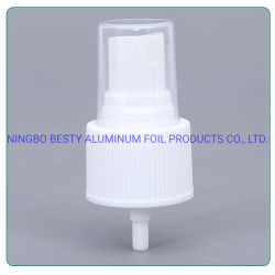China proveedores 20/410 Bomba de Plástico PP Mist pulverizador