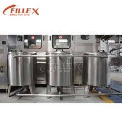 Fertigung-automatische 5 Gallonen-Flaschen-Wasser-AbfüllenFüllmaschine