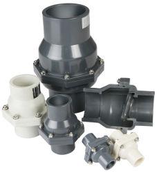 물 처리를 위한 고품질 DIN ANSI JIS 표준 플라스틱 역행 방지판 UPVC 웨이퍼 역행 방지판 UPVC 미터 흔들이 첵 벨브