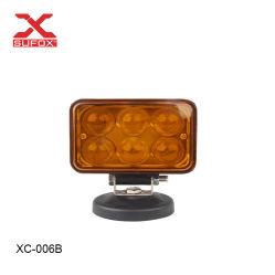 6500 de 3 pulgadas de 18W 7000K 1380LM Square Gran potencia de trabajo LED Lámpara LED para grúas luz cubo de la luz exterior