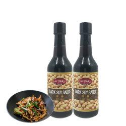 Кошерная удобной упаковке OEM оптовой темный соевый соус Китая
