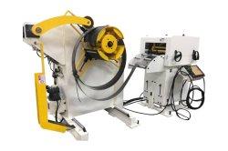 Mensualmente se ocupa de la bobina personalizados Pulse Nc automático de la hoja de alimentadores de servo plancha Uncoilers Máquina 3 en 1 Decoiler plancha alimentador para hacer parte eléctrica