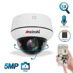 La pequeña cámara PTZ Dome con audio bidireccional