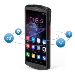 Industrial Android 8.1 Biometric Fingerprint 1d 2D QR Barcode Handheld (産業用 Android 8.1 バイオメトリック指紋 1d 2D データ端末