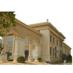 La ampliación de la espuma Polystrene EPS molduras decorativas cornisa para la casa de diseño Decoración