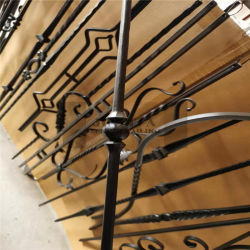 Fence Parts Decoration Wrought Iron Forged Steel Picket Cast Iron 단조 피켓