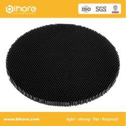 Блок круглой формы с покрытием расширенной Honeycomb жалюзи
