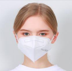 Máscara facial de 5 camadas Máscara descartável proteção de pontos não médica FFP3 Máscara