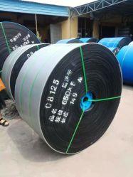 Correia de borracha correia transportadora de aço de borracha para mina de carvão anti-rasgamento