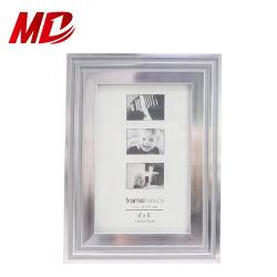 Commerce de gros 4*6dans le cadre de photo d'argent moderne PVC mur et l'affichage tableau