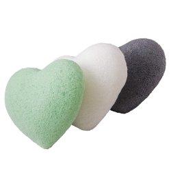Wz japonais de haute qualité 100% naturel Curcuma Konjak éponge faciale avec prix de gros, le logo OEM Package