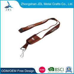 Custom Factory Cheap Fashion Accessoires Phone Id Card Holder Usb Blank Polyester Woven Lanyard (011)