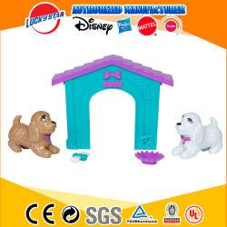 Die neue Ankunft, die reizend ist, täuschen Spiel-das Plastikspielwaren-Hundehaus-Spiel vor, das für Kinder eingestellt wird