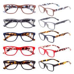 نظارات للقراءة من النمط الرخامي الملونة رخيصة وجديدة مخصصة