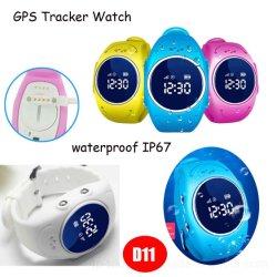 À prova de IP67 Kids Smart Watch Phone GPS com Alarme de remoção de relógio