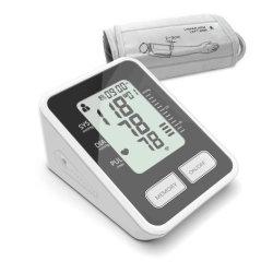 Monitor de pressão arterial com visor LCD e transmissão de voz inteligente