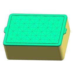 قالب بلاستيكي مخصص لصندوق تخزين بلاستيكي طازج مصنوع من البلاستيك مع غطاء