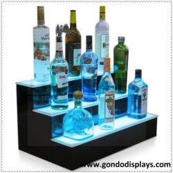 Vinho, Liquor e cigarro, 3 níveis vinho acrílico garrafa de vinho Display suporte