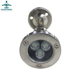 Бассейн с фонтаном цвет индикатора изменяется фонтан лампа