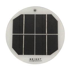 [2و] [2ف] عالة مصغّرة مستديرة زجاجيّة [سلر بنل] وحدة نمطيّة لأنّ شاحنة شمسيّ