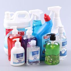 Fruitschaal reinigen/reinigen vloeibaar reinigingsmiddel zeep