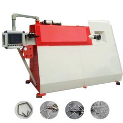 4-12mm Barra de aço automático CNC Vergalhão flexão fivelas e máquina de corte de fio máquina de arcos