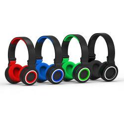 Factory Outlet auriculares inalámbricos auriculares Bluetooth de tarjeta de memoria Soporte Reproductor de MP3 Bluetooth 4.1 Solución de CRS Deporte los auriculares