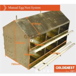 Manual de equipo de recolección de huevos de aves de corral para la colocación de pollo